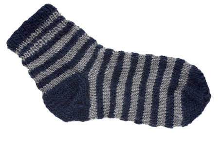 domesticity: Of wool knitted sock yarns at home