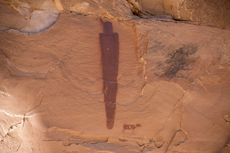 Pictographs in Canyonlands National Park