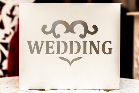 Wedding card with a wedding inscription for wedding greetings stock photo wedding card with a wedding inscription for wedding greetings and gifts m4hsunfo
