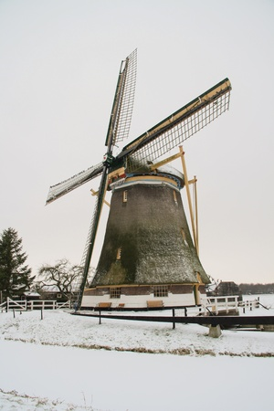 Windmill of Westbroek Stock Photo - 8517498