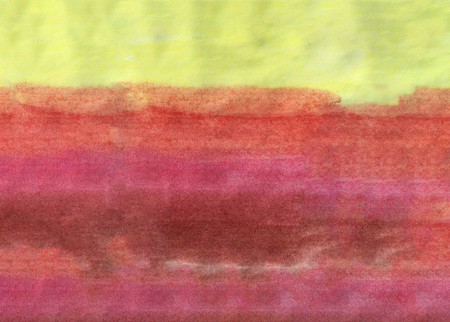 Abstract watercolor gradient hand drawn background. Template design. Different color vertical strips.