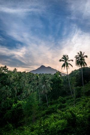 Volcano, mount talinis, Negros oriental, Philippines