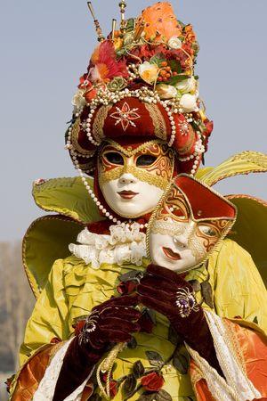 carnival costume: Venetian carnival costume Stock Photo