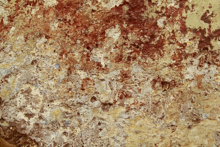 Grunge background : old damaged wall Stock Photo - 9283701