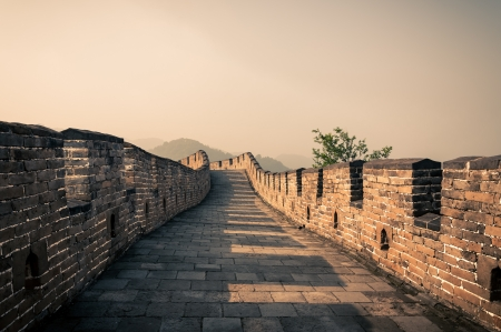The Great Wall of China at Mutianyu  photo