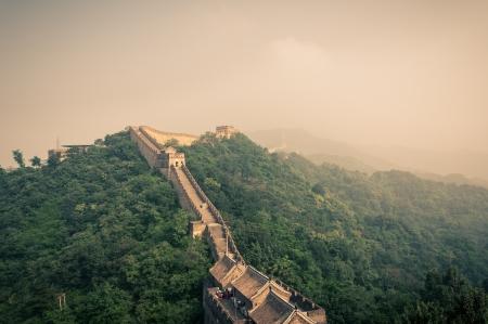 The Great Wall of China at Mutianyu  photo
