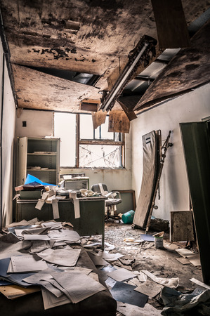 insane insanity: The interior of Gonjiam Psychiatric Hospital in South Korea. The building was abandoned nearly twenty years ago, but never demolished.