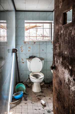 forsaken: The interior of Gonjiam Psychiatric Hospital in South Korea  The building was abandoned nearly twenty years ago, but never demolished