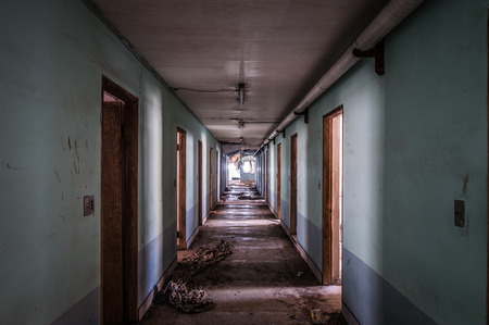 but: The interior of Gonjiam Psychiatric Hospital in South Korea  The building was abandoned nearly twenty years ago, but never demolished