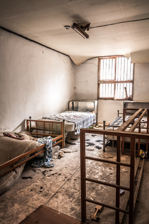 criminally: The interior of Gonjiam Psychiatric Hospital in South Korea  The building was abandoned nearly twenty years ago, but never demolished