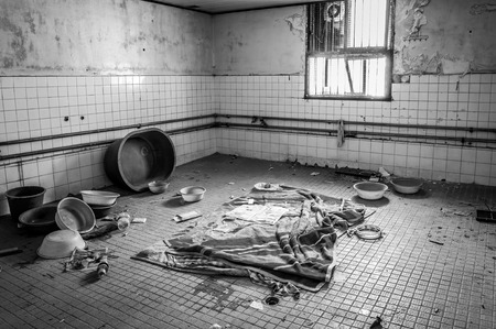 asylum: The interior of Gonjiam Psychiatric Hospital in South Korea  The building was abandoned nearly twenty years ago, but never demolished