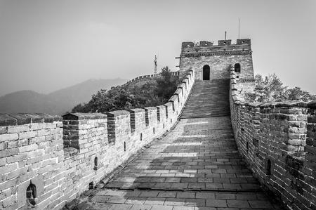 The Great Wall of China at Mutianyu. photo
