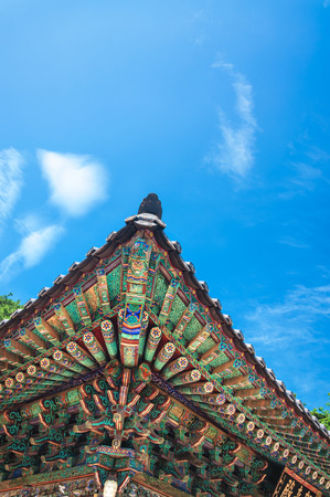 Bulguksa Temple is one of the most famous Buddhist temples in\ all of South Korea
