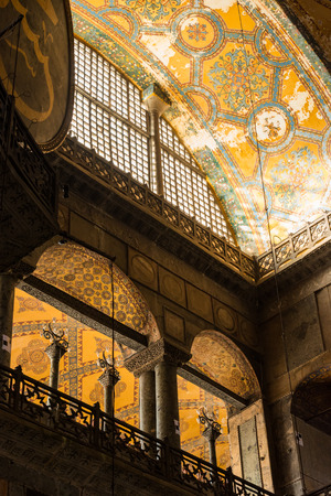 aya: Architectural detail of the Hagia Sophia