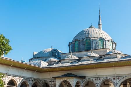 topkapi: Architectural detail of Topkapi Palace in Istanbul, Turkey  Editorial