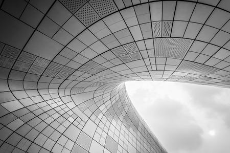 현대 건축의 추상 쐈 어입니다. 에디토리얼