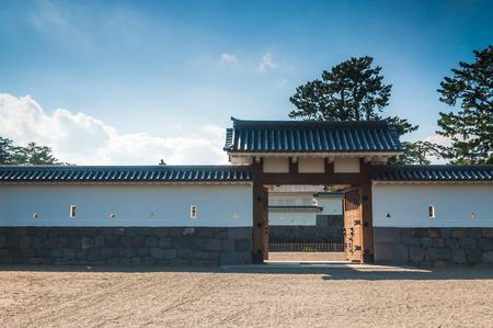 odawara: Traditional Japanese architecture at Odawara Castle in Odawara, Japan.