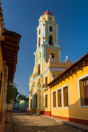 colonial church: A Spanish colonial church in Trinidad, Cuba.