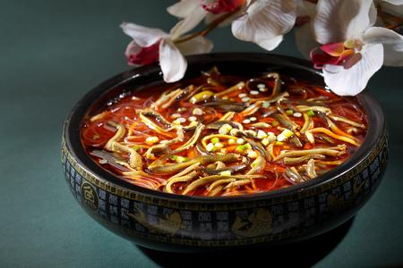 spicy: spicy eel soup