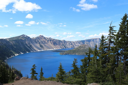 crater lake: Beautiful Crater Lake Oregon
