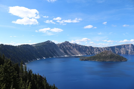 crater lake: Crater Lake Oregon In July