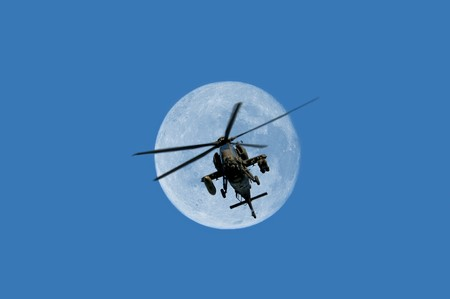 combat helicopter photo