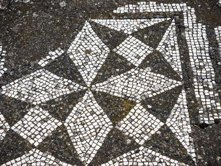 adriana: Ancient ruins of Villa Adriana, residence of the emperors of Rome. Stock Photo