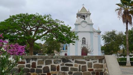 santiago cape verde: Colonial church, Tarrafal, Santiago Island, Cape Verde