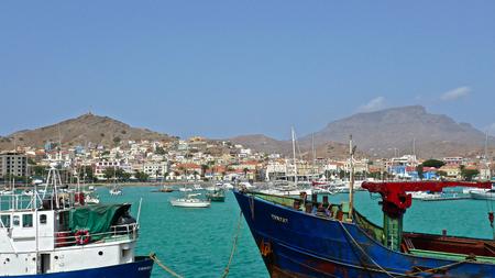 Harbour of Mindello, Sao Vicente, Cape Verde