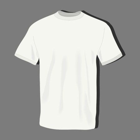 realistically: male t shirts, realistically painted T shirt