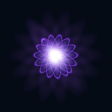 len: A bright flash of light. Star in space. Bright vector shine. realistic len flare beam and flash vector illustration