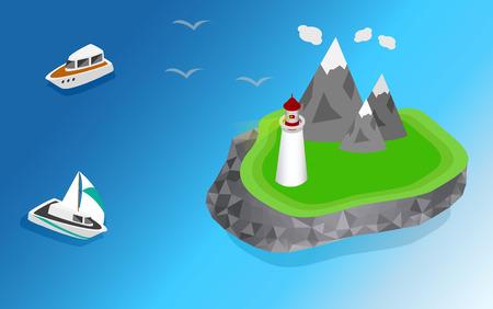 navigational: Light house, Lighthouse Icon building Lighthouse maritime, Lighthouse navigational guidance, Lighthouse Image Lighthouse isometric Lighthouse