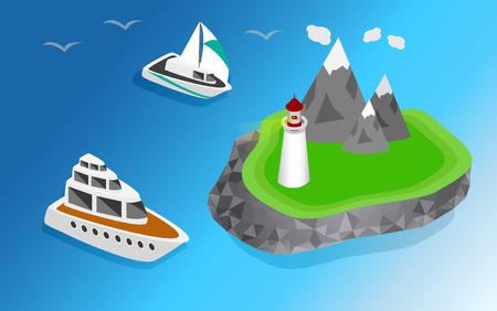 navigational: Light house, Lighthouse Icon building Lighthouse maritime, Lighthouse navigational guidance, Lighthouse Image Lighthouse isometric Lighthouse Sign Lighthouse Flat Lighthouse design, Illustration