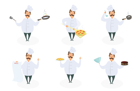 Chef image icon illustration
