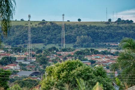 Cassilandia, Mato Grosso do Sul, Brazil - 01 09 2021: Close-up of Brazilian city Cassilândia in the morning Zdjęcie Seryjne