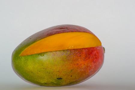 frescura: mango bebida postre comiendo frescura de los cítricos Foto de archivo