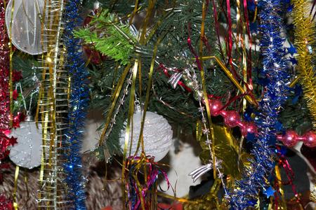 toygift: Christmas toys on the Christmas tree
