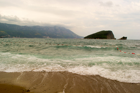 serbia and montenegro: montenegro  sea water travel buildings house  tree