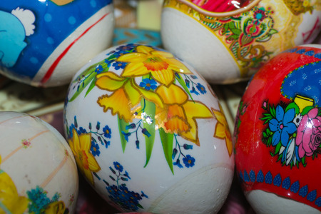 group of objects: egg easter group objects animal eggs people color