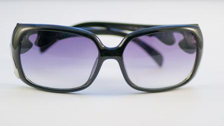 blindness: eyeglasses vision human defocused glasses blindness eye Stock Photo