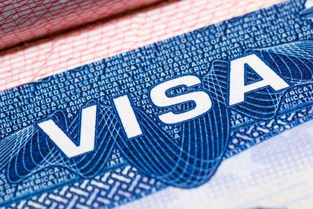 visa passport stamp travel american usa busines