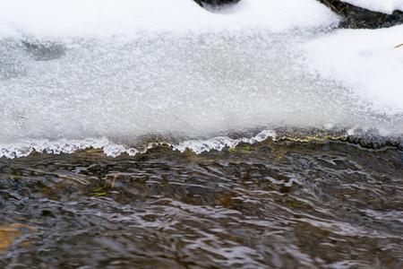 non violence: cold temperature stream beauty nature river area winter
