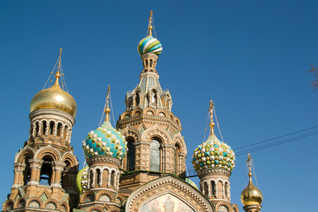 savior: the Cathedral of the Savior on blood in St. Petersburg