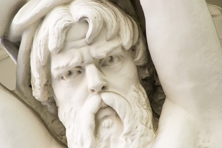 ancient philosophy: the face of the monument a beautiful day captured