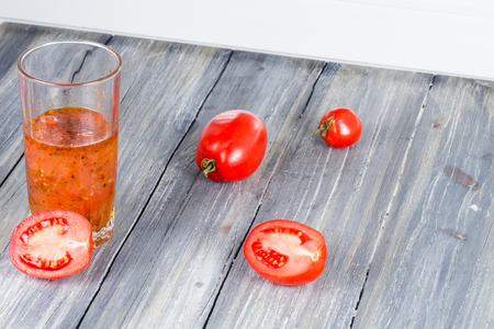 tomatoes on wooden background natural home eating
