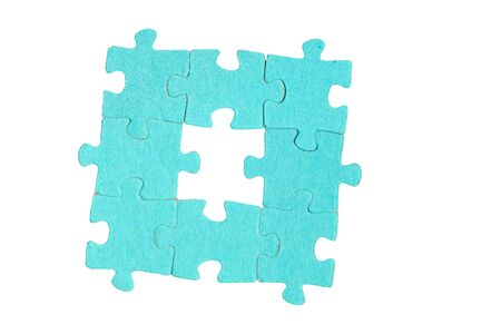 puzzle without details on a white background.