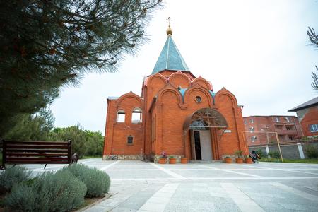 Orthodox church of a monastery in Gelendzhik, Russia