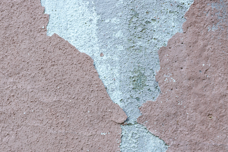 Pink messy wall stucco texture background. Decorative wall paint Stock Photo
