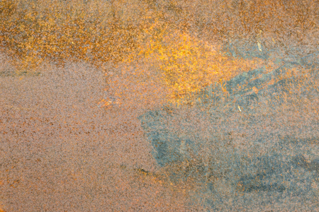 Grunge rusted metal texture, rust and oxidized metal background. Old metal iron panel Stock Photo