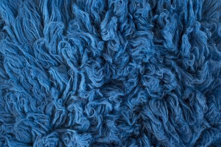 background texture of fur lue color Stock Photo